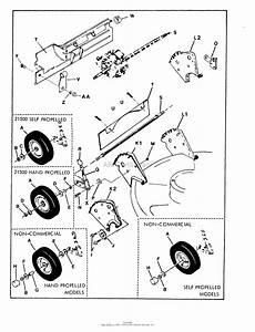 Snapper 21400 21 U0026quot  4 Hp Steel Deck  80 S  Series 0 Parts