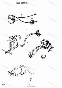 Suzuki Motorcycle 1978 Oem Parts Diagram For Electrical