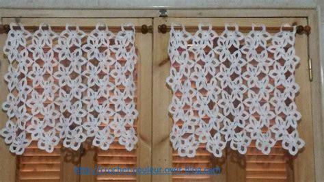 modele rideau cuisine modele rideau de cuisine au crochet