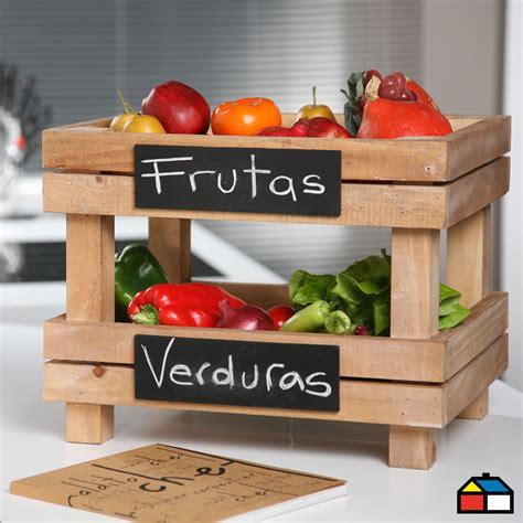 frutera cocina mueble organizador fruteras