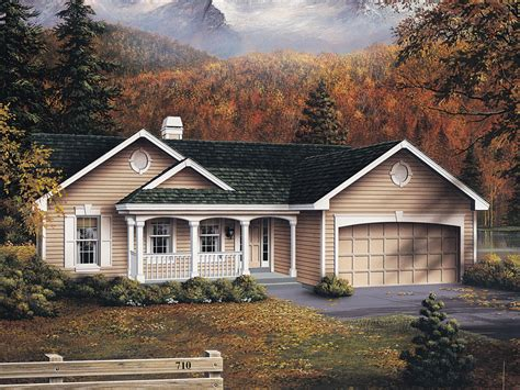 oakmont atrium ranch home plan   house plans