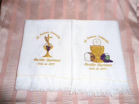 servilletas primera comunion y confirmacion bordadas daa 35 00 en mercado libre