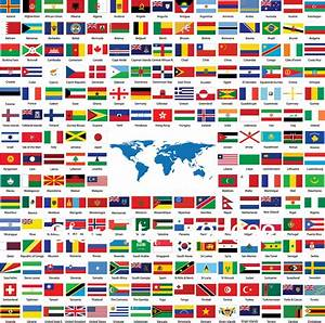 Different Flags And Their Countries | Emaps World