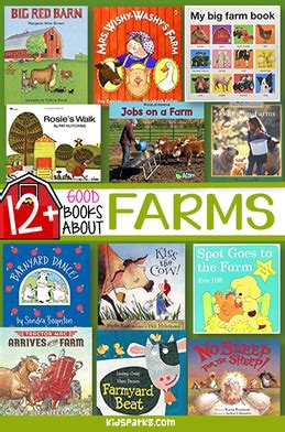 farm animal books for preschool pre k and kindergarten 442 | farm books