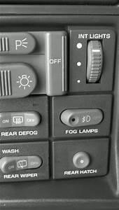 97 Blazer Oem Fog Light Switch - Blazer Forum