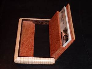 Woodworking business card holder with innovative trend for Wood business card holder plans