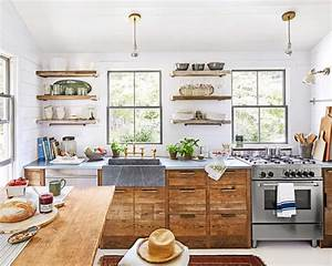 Decorating, Tips, For, A, White, Country, Kitchen