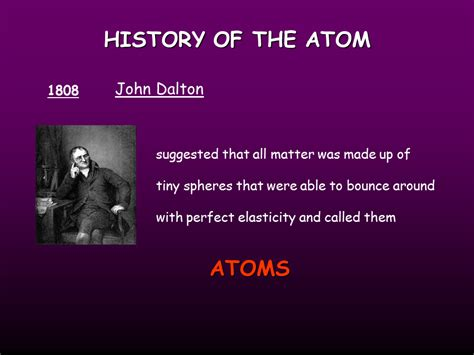 Atomic Structure, History Of The Atom Presentation