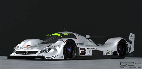 mercedes benz lmp prototype  concept race cars
