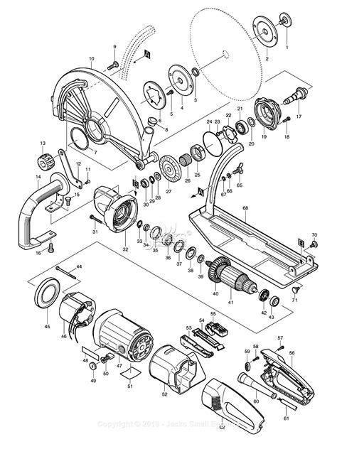 Makita 4114X Parts Diagram for Assembly 1