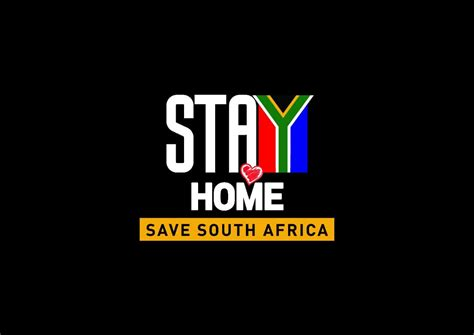 Stay Home Save South Africa Downloadable badges
