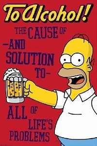 The Simpsons Al... Simpson Drunk Quotes