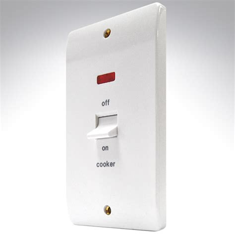 Double Pole Ceiling Switch by Mk 45a Switch Dp 2 Gang Neon Cooker