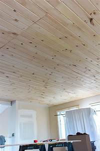 tongue and groove ceiling Kitchen Chronicles: DIY Tongue and Groove Plank Ceiling ...