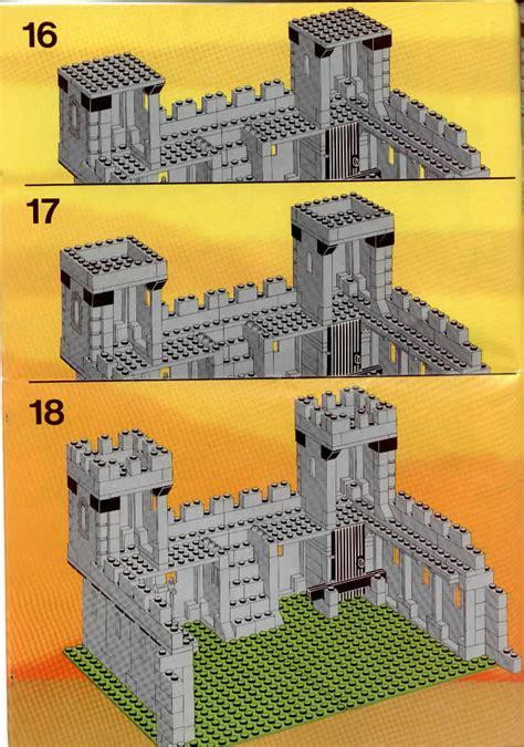 lego  kings castle instructions castle