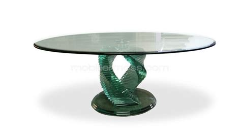 table ronde en verre pas cher maison design bahbe