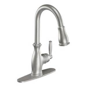 moen kitchen faucets home depot moen brantford single handle pull sprayer kitchen faucet featuring reflex in