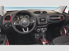 Dimensions Jeep Renegade 2015, coffre et intérieur