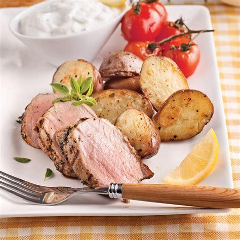 recette cuisine grecque filet de porc à la grecque recettes cuisine et