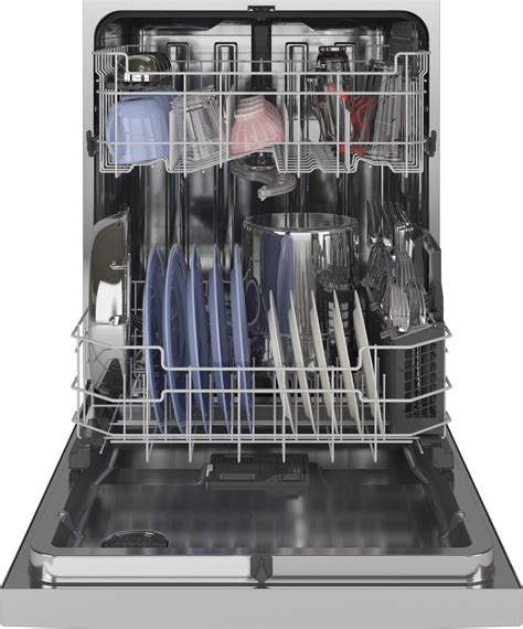 gdtssnss ge  dishwasher  db stainless interior stainless steel