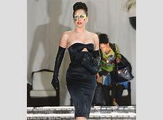 Lady Gaga narrowly avoids wardrobe malfunction in tight