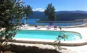 photos gites et chambres d39hotes verdon ferme para lou With hotel lac de sainte croix avec piscine