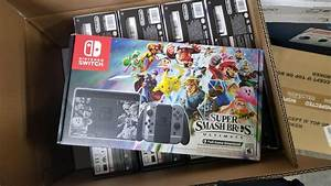 Limited Edition Super Smash Bros Ultimate Nintendo Switch