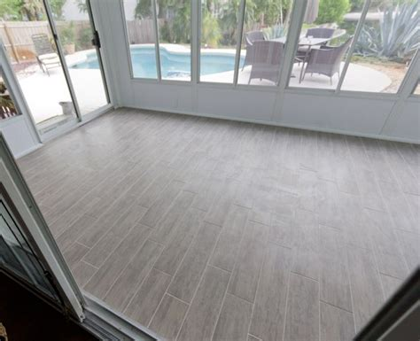 tile flooring for sunroom jenna sue sunroom week 3 sunroom pinterest tile wood floor tiles and sunrooms