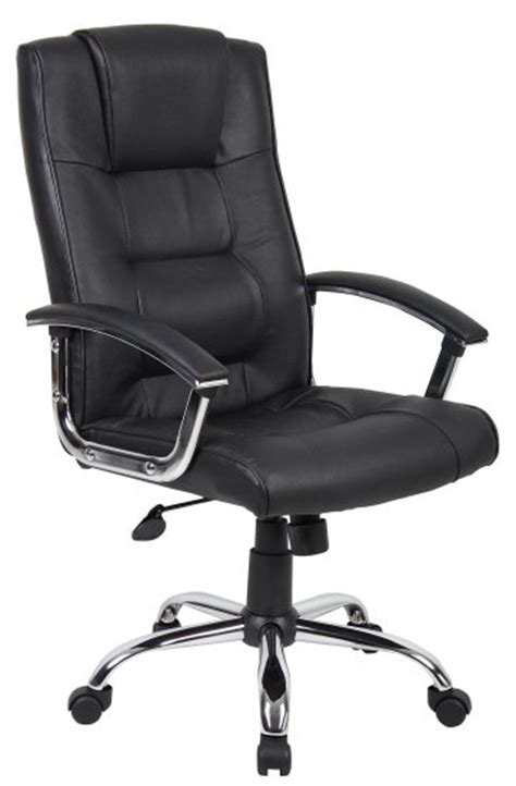 office chairs black leather swivel chair icarus office