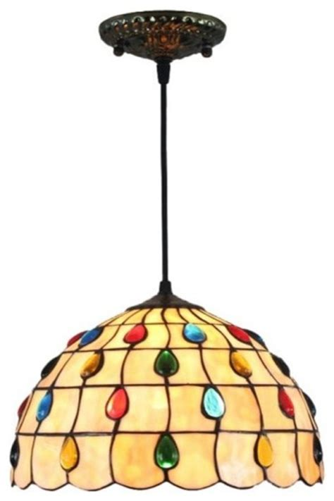 stained glass kitchen lighting shop houzz parrotuncle stained glass peacock 5697