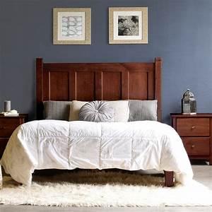 Grain, Wood, Furniture, Shaker, Platform, Bed, U0026, Reviews