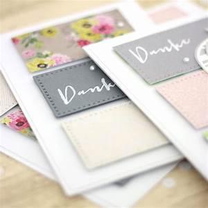 Karten Selber Basteln : danke sagen karten basteln mit transparentpapier pieces for happiness ~ Orissabook.com Haus und Dekorationen