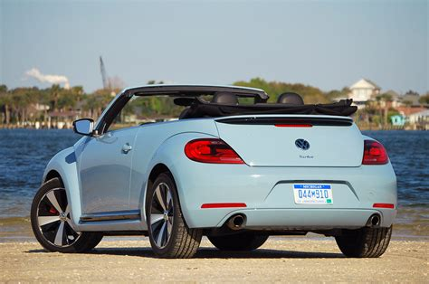 volkswagen beetle red convertible 2013 volkswagen beetle turbo convertible autoblog