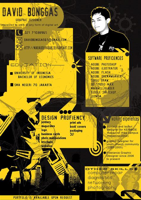 creative resume 30 artistic and creative r 233 sum 233 s webdesigner depot