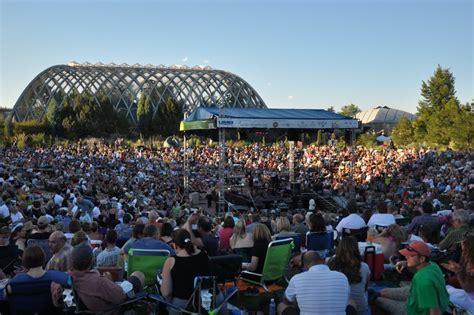 denver botanic gardens concerts denver botanic gardens unveil 2012 concert schedule