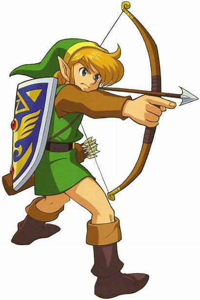 Zelda Link Past Legend Bow Arrow Transparent