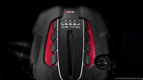 Download Wallpapers 3840x2160 Car, Engine, Audi, Rs6