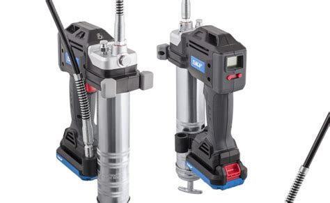 Skf Offers New Battery-driven Grease Gun