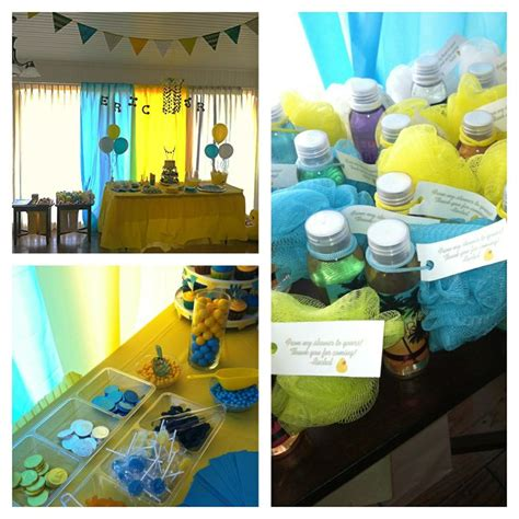 yellow gray and teal bathroom teal grey and yellow baby shower baby shower ideas