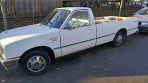 1981 Chevrolet Luv Diesel Pickup 5 Speed Manual Transmission