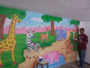Gallery of Kindergarten School Wall Decoration - Fabulous
