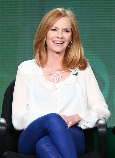 how is marg helgenberger marg helgenberger at cbs 2014 winter tca tour in pasadena