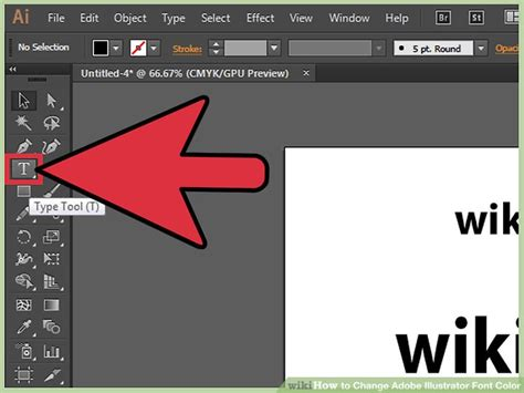 how to change font color 3 ways to change adobe illustrator font color wikihow