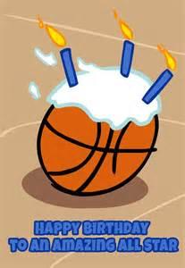 Free Printable Basketball Birthday Cards