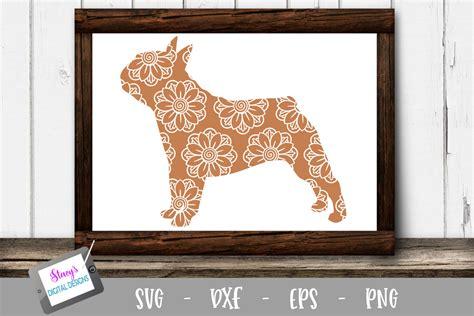 We've got unicorn, mermaid, inspirational quote. Dog SVG - Bulldog with floral mandala pattern
