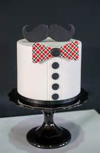 Bow Tie Birthday Cake