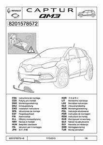 2015 Captur Installation Instructions Of Front Skid Pdf  2