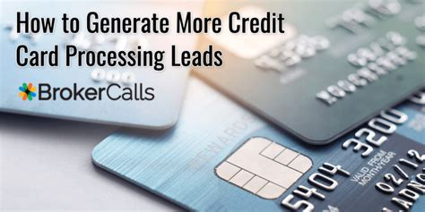 A credit card is a payment card issued to users (cardholders) to enable the cardholder to pay a merchant for goods and services based on the cardholder's accrued debt (i.e., promise to the card issuer to pay them for the amounts plus the other agreed charges). How to Generate More Credit Card Processing Leads   BrokerCalls