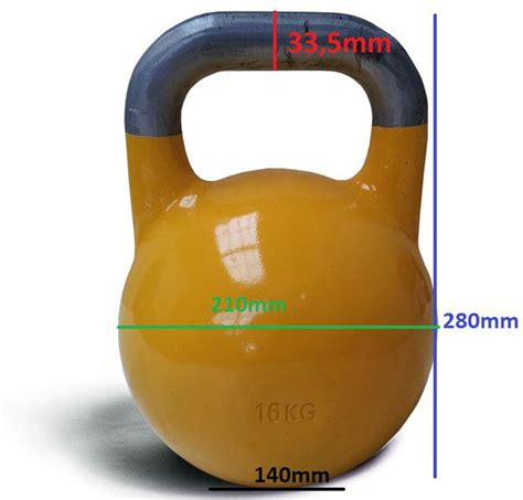kettlebell competition 8kg 40kg standard kettlebells chart