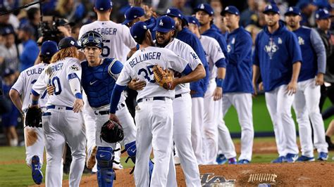los angeles dodgers beat houston astros   extend world
